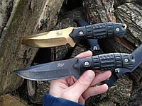 """Нож с фиксированным клинком """"Stone Shark"""" (с кожаным чехлом)"""
