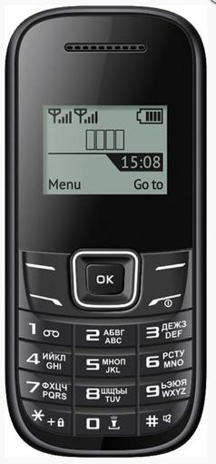 Мобильный телефон Nomi i144m Black (черный)