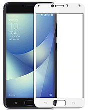 Защитное стекло для Asus Zenfone 4 Max ZC554KL Full-Screen White белый