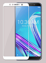Защитное стекло для Asus Zenfone Max Pro M1 ZB601KL Full-Screen White белый