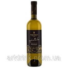 """Вино белое полусухое ASKANELI """"Пиросмани"""" 0.75л 12%"""