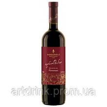 "Вино красное полусухое ASKANELI ""Пиросмани"" 0.75л 12%"
