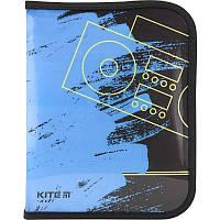 Папка на молнии Папка на молнии Be sound B5 Kite K18-203-3, фото 1