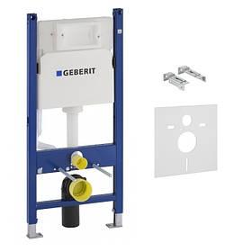 Инсталяция для подвесного унитаза GEBERIT DUOFIX H112 с встроеным бачком UP100(12см)