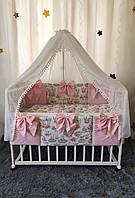 """Детский набор постельного в кроватку """"Бант NEWБант NEW"""""""