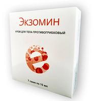 Экзомин - Крем противогрибковый, гель для эффективного лечения грибка, саше от грибка экзомин