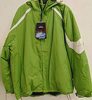 Горнолыжная куртка Campus Rockland зеленого цвета.