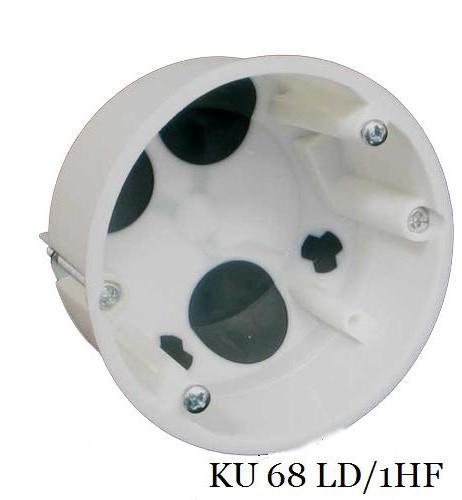 Коробка универсальная для пустотелых стен KOPOS KU 68 LD/1HF