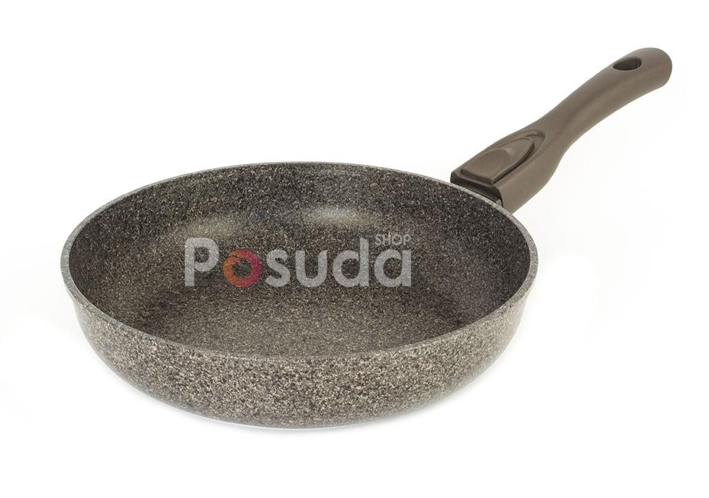 Сковорода антипригарная с индукционным дном Биол 28 см 28073И