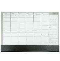 Планинг недатированный 2017-2019гг, клееный, 52 листа PVC (420х290мм) Buromax BM.2690-01 черный