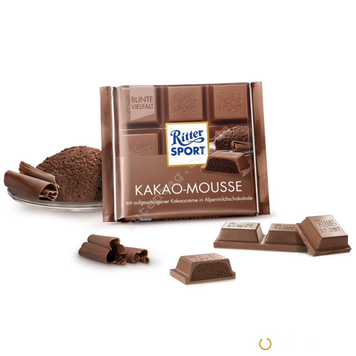 Молочный шоколад Ritter Sport Какао-мусс 100 г