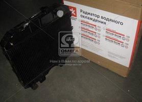 Радиатор охлаждения УАЗ (3-х рядный) медный | Дорожная карта