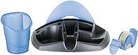 Набор настольный Подставка настольная DESK ESSENTIALS черная с синим Maped MP.751212