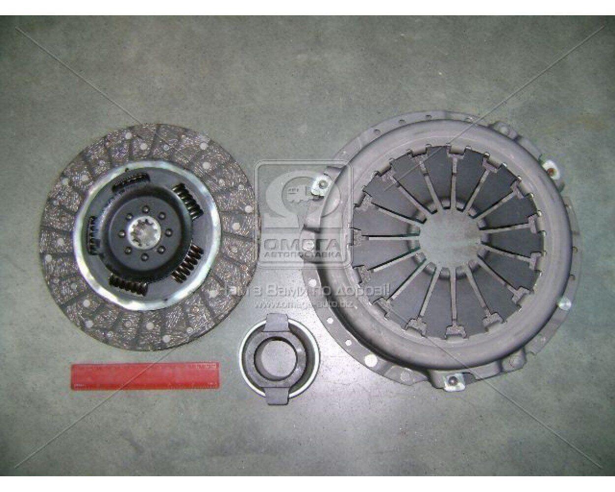 Зчеплення ГАЗ 3302, 406 (диск нажимной, ведений, підшипник) (комплект)   (ГАЗ)