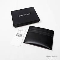 Кожаный кардхолдер CALVIN KLEIN LOGO 47203489-001