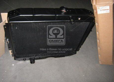 Радиатор охлаждения ГАЗ 3307 (3-х рядный) медный   Дорожная карта