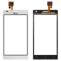 Touchscreen (сенсорный экран) для LG Optimus 4X HD P880, белый, оригинал