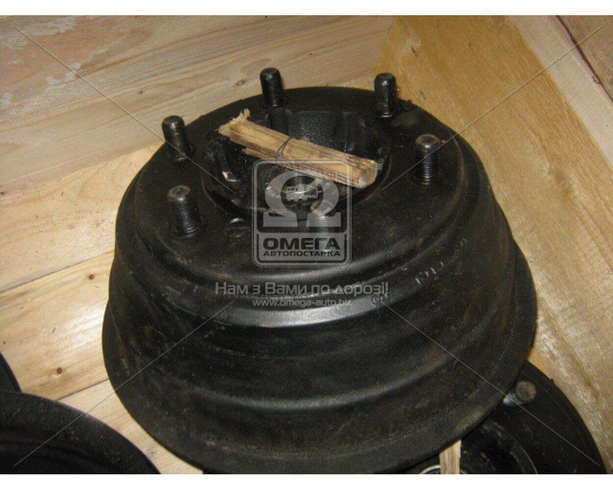 Барабан тормозная передний правый в сборе (со ступицей, подшипн., шпильками) ГАЗ 53