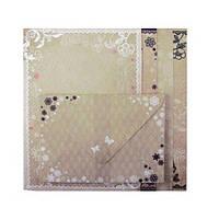 Заготовка для открыток Заготовка для открыток Zibi Vintage 10.5-14.8 см с цветными конвертами ZB.18221-AD