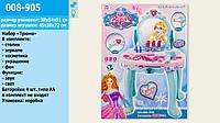 Детское трюмо для девочки  Frozen 008-905, салон красоты, столик туалетный