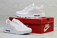 Модные кроссовки Nike Air Max,белые