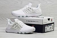 Модные женские кроссовки Fila,белые,текстиль
