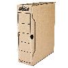 Архивный бокс Бокс для архивации документов R-Kive Basics 100 мм коричн. f.91601 Fellowes