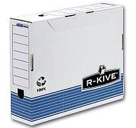 Архивный бокс Бокс для архивации документов R-Kive Prima 100 мм синий f.26501 Fellowes