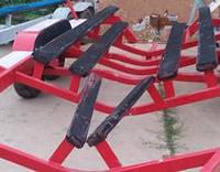 Прицеп для катера на торсионах с тормозами., фото 1