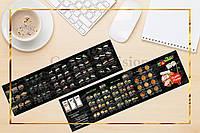 Буклет для суши бара, буклеты, печать буклетов, разработка дизайна для буклетов