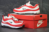 Мужские кроссовки Nike Supreme,красные