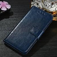 Чехол Idewei для Meizu M8 / M813H книжка кожа PU синий