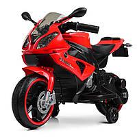 Детский электромобиль мотоцикл BMW M 4103-3 красный
