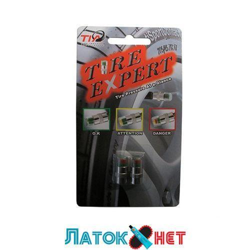 Колпачки для вентилей индикаторы давления в шинах 2 шт под давление 2,0 цена за комплект