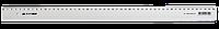 Линейка пластиковая прозрачная 50см Buromax BM.5826-50
