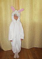 Детский костюм Заяц в виде комбинезона на прокат в Харькове