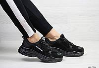 Кроссовки Balenciaga, Баленсиага, черные, , 41
