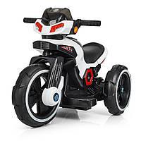 Детский электромобиль мотоцикл трицикл Bambi M 3927-1 BMW белый
