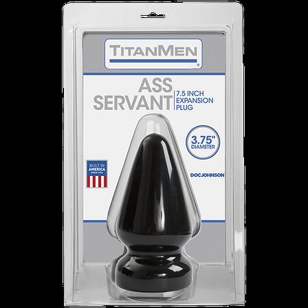 Пробка для фистинга Doc Johnson Titanmen Tools - Butt Plug - 3.75 Inch Diameter Ass Servant, фото 2
