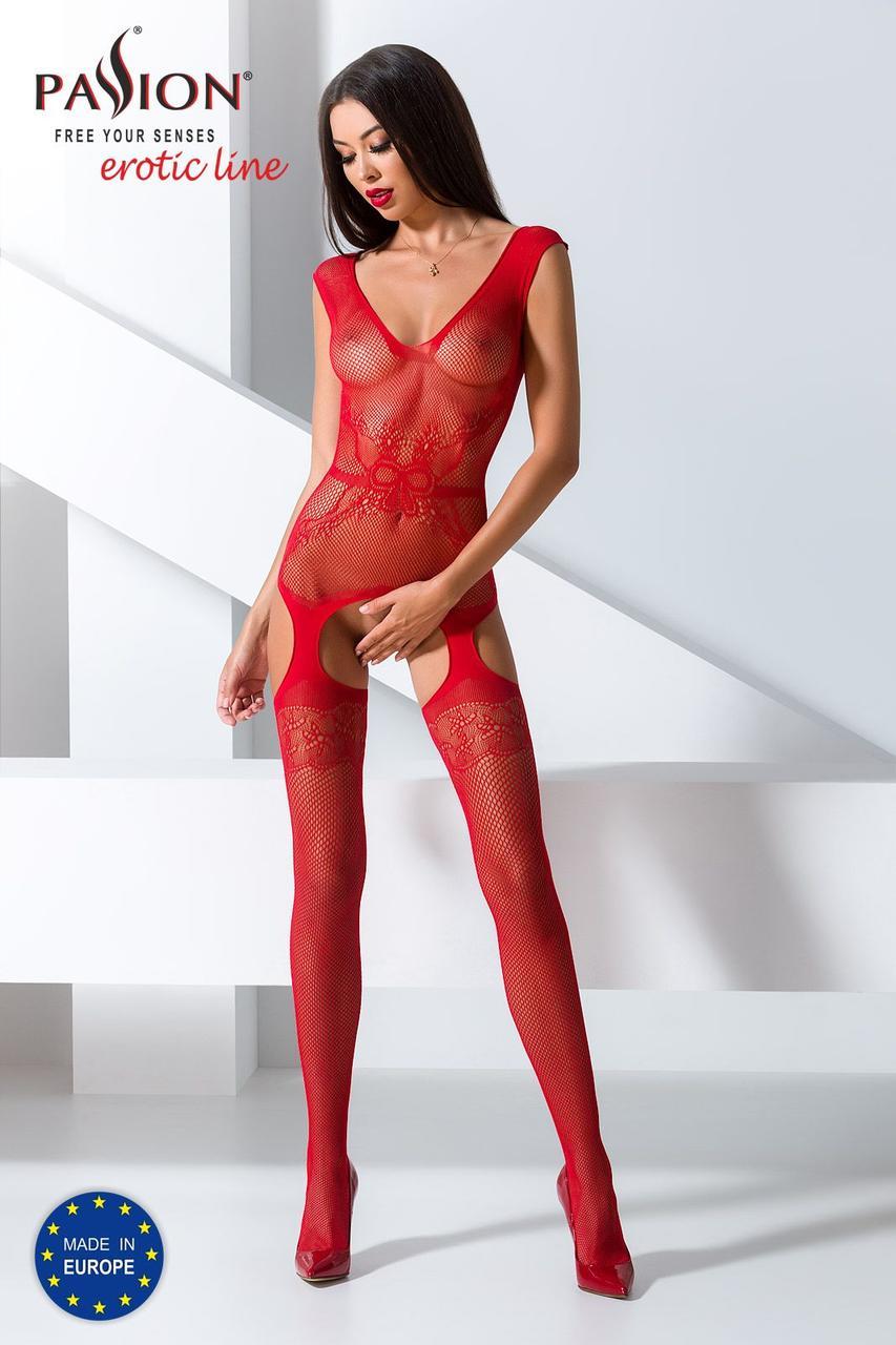 Бодистокинг BS062 red