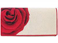 Кошелёк из кожи ската ST 53 ART 032-1 Rose