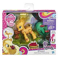 Детская Игрушка Для Девочек Май Литл Пони Эпплджек Пони с артикуляцией Applejack My Little Pony Hasbro Хасбро