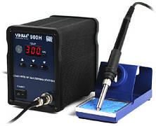 YIHUA 900H паяльная станция для бессвинцовой пайки, индукционная, антистатик, 90W, 0℃ до 300℃