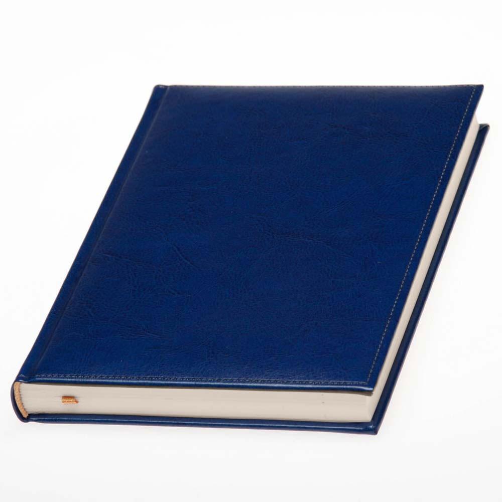 Щоденник Небраска недатований, кремовий блок, синій