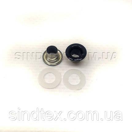 Люверс (Блочка) с пластиковым кольцом №3 синие D5мм (100шт) (СИНДТЕКС-0006), фото 2