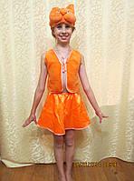 Прокат детского карнавального костюма Белочка