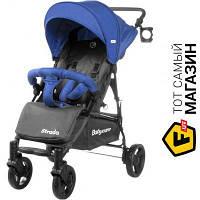 Прогулочная коляска- книжка одноместная Babycare Strada Space Blue (CRL-7305) темно-серый, синий
