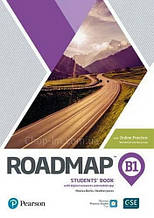 Учебник с практикой Roadmap B1 Students' Book with Online Practice / Pearson