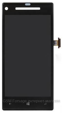 Дисплей HTC Windows Phone 8 X C620e complete Black