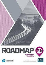 Тетрадь Roadmap B1+ Workbook with Digital Resources / Pearson